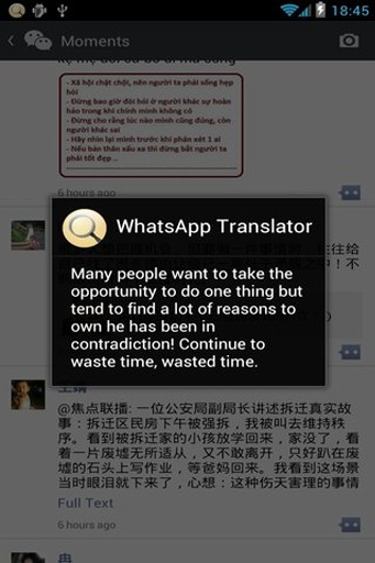 WhatsApp Translator