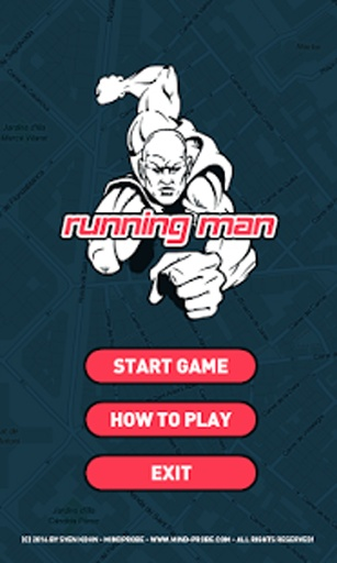 奔跑的人-定位慢跑