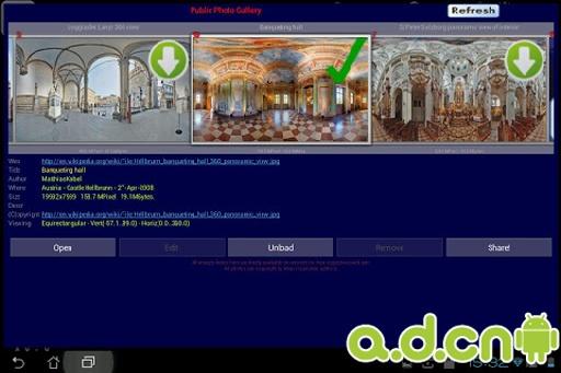 Panorama全景照片浏览器