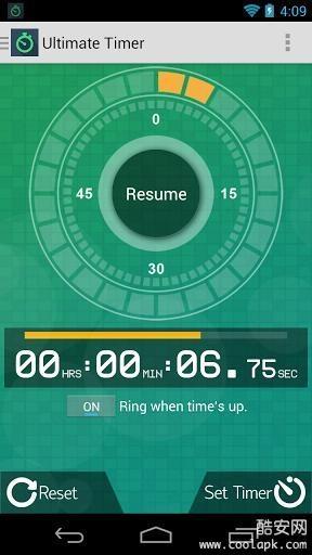 无限秒表计时器截图1
