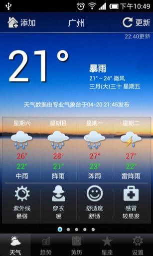 【免費生活App】ET天气预报-APP點子