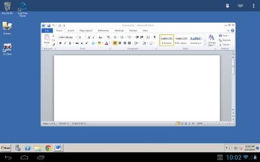 2X远程桌面连接截图1