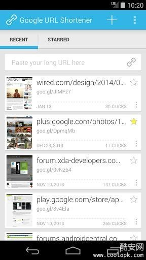 Google短链接生成器