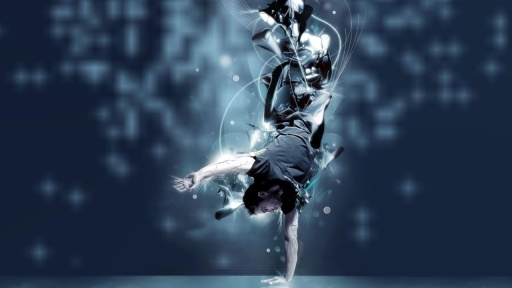 动感舞蹈 背景图片