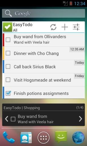 EasyTodo任务列表截图4