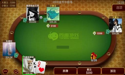 免費下載棋類遊戲APP|疯狂德州扑克(赢奖) app開箱文|APP開箱王