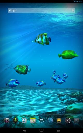 高清海底动态壁纸|玩個人化App免費|玩APPs