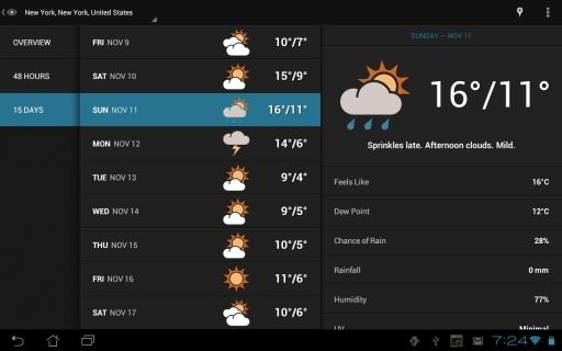 【免費生活App】天气之眼-APP點子