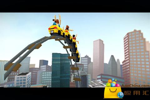 3D纽约过山车 3D Rollercoaster Rush New York
