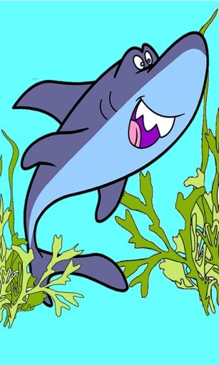 图画书的鲨鱼图片