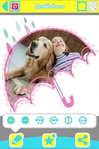 玩攝影App|卡通相框免費|APP試玩