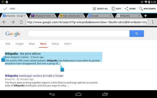 Web浏览器截图9