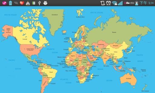 点击!世界地图