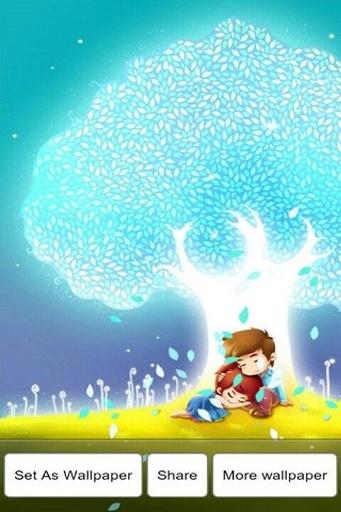 爱情公寓之爱之树3D动态壁纸