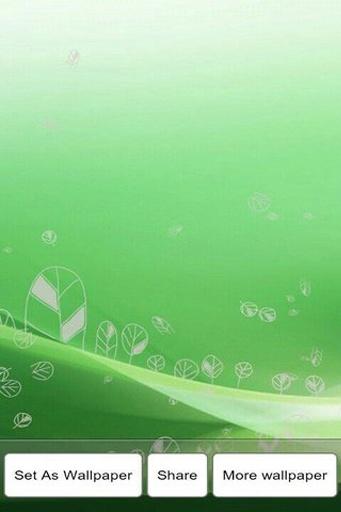 绿色心情3D动态壁纸