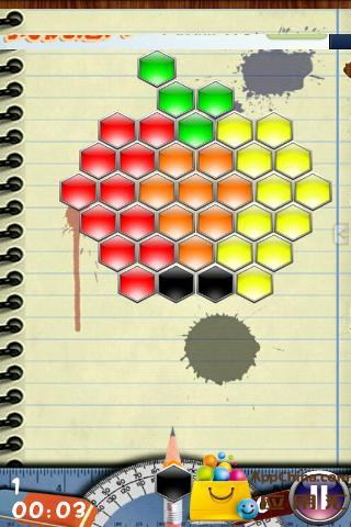 六边形泡泡龙中文版截图4
