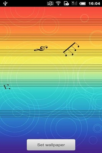 【免費個人化App】跳动的音符动态壁纸-APP點子