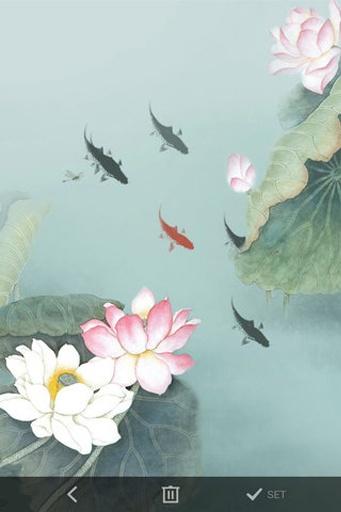 九鱼图动态壁纸