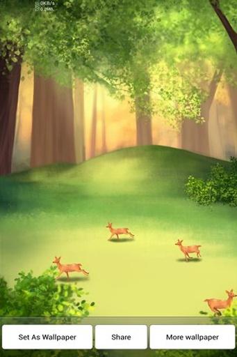 鹿你好动态壁纸