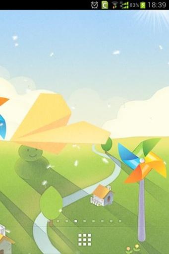 纸飞机动态壁纸 個人化 App-癮科技App