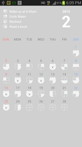 Challenge Calendar (目标 日历)截图2