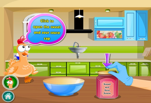 女孩做饭游戏