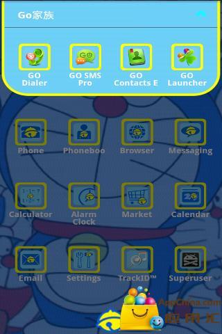 GO主题—哆啦a梦截图3