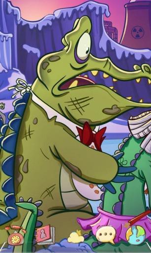 鳄鱼小顽皮爱洗澡-宝软3D主题