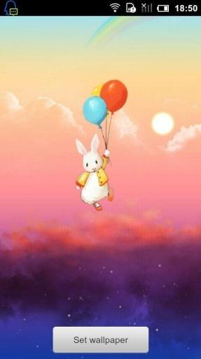 没想到就被气球带飞起来了