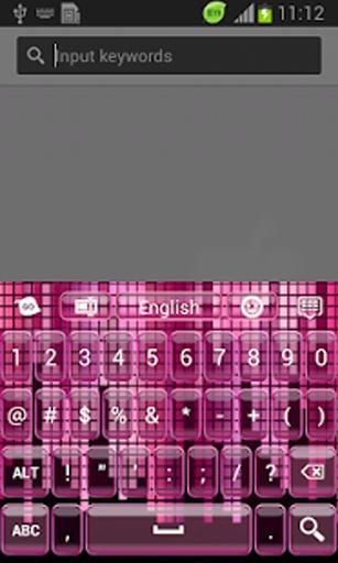 高清屏幕截图将告诉你这个主题将是多么巨大的期待您的手机键盘上的!