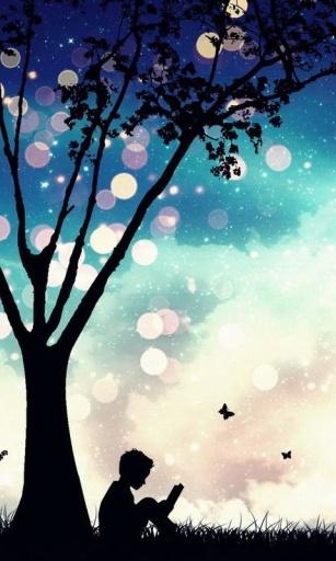 梦幻夜空主题动态壁纸截图4