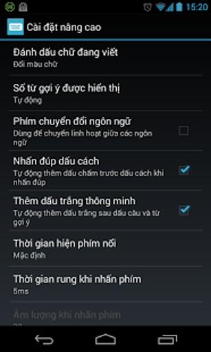 Laban Key: Bộ gõ tiếng Việt截图4