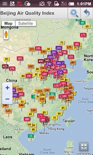 亚洲空气质量