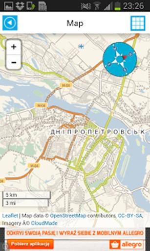 乌克兰克里姆离线地图poi