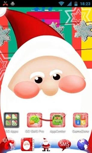 GO桌面EX聖誕老人
