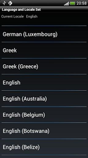 语言和区域设置截图3