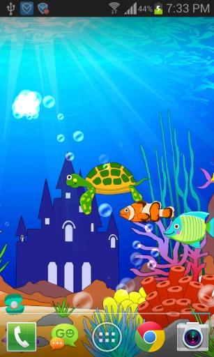 海底世界卡通珊瑚