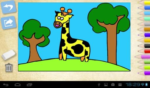 你的宝宝将这些可爱的动物都喜欢画画
