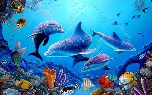 標簽:海底世界,水族館動態壁紙