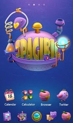 Spagiric - GO桌面EX主题