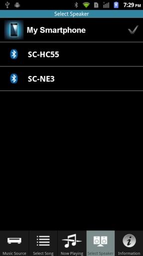 Panasonic Music Streaming截图7