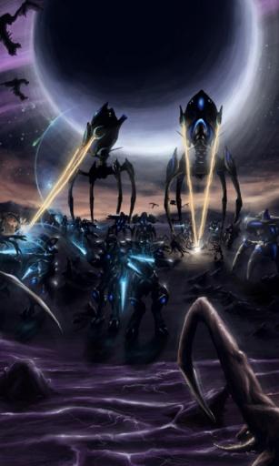 星际争霸2阿塔尼斯手机壁纸