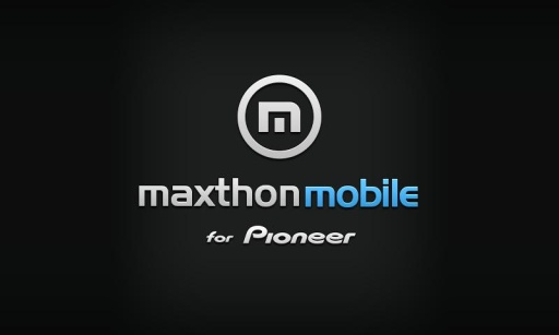 Maxthon Browser for Pioneer截图5