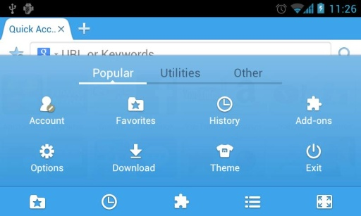 Maxthon Browser for Pioneer截图7