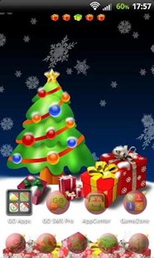GO桌面EX圣诞树