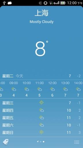 酷酷天气 酷一天