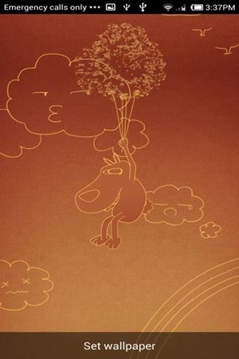 有趣的小狗-梦象壁纸