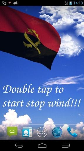 三维安哥拉国旗