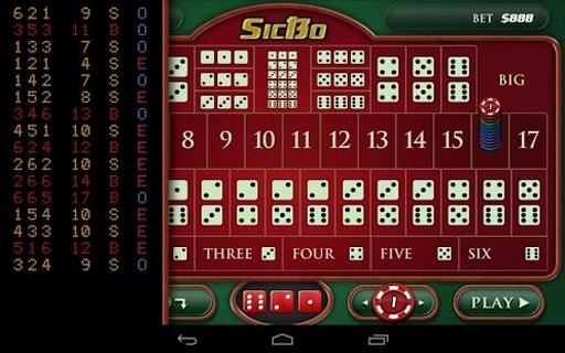可多重投注,每手可从$1到$1000000★ 包含三个赌场模式:澳门,英国