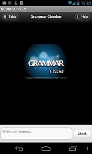 英语语法检查器